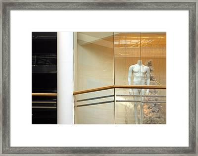 Blank Frank Framed Print by Jez C Self