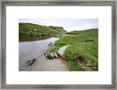 Blea Water Framed Print