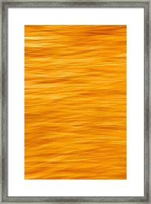 Bleeding Orange Framed Print