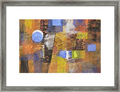 Blended Fragments Framed Print by Melody Cleary