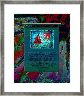 Blessings 2 Framed Print by Sue Duda