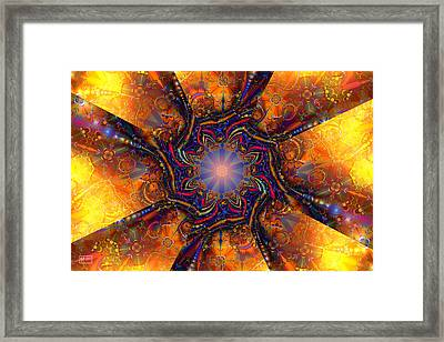 Blinded By The Light Framed Print