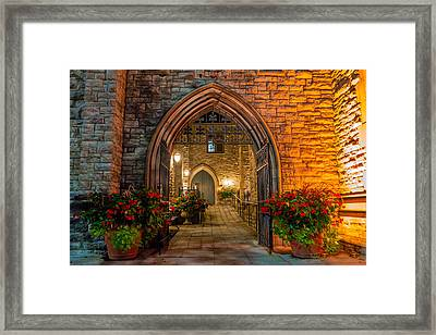Blink Cincinnati - Covenant First Presbyterian Church Framed Print
