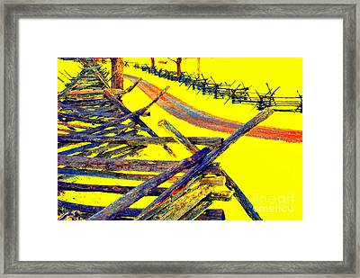 Bloody Lane - Antietam Framed Print