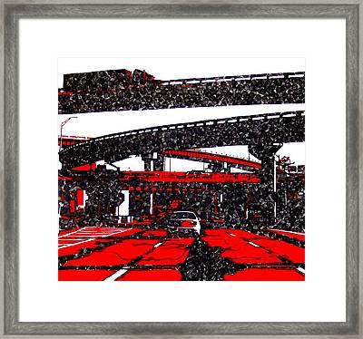 Bloody95 Framed Print by Jason Charles Allen
