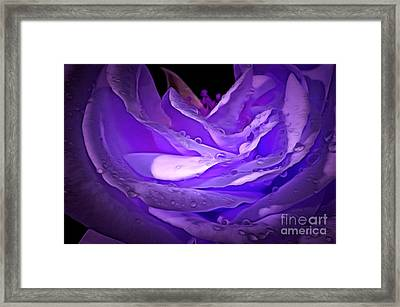 Blossom Of Love Framed Print by Krissy Katsimbras