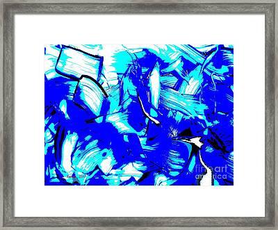 Abstract Tn 007 By Taikan Framed Print
