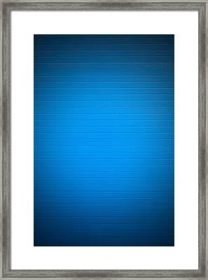 Blue Background Framed Print by Boyan Dimitrov