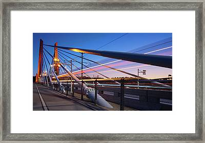 Blue Hour Blur #2 Framed Print by Patrick Campbell