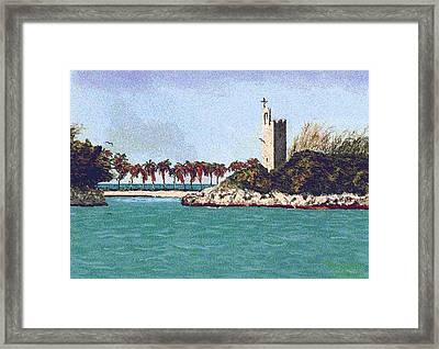 Blue Lagoon Framed Print by Stan Hamilton