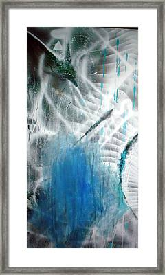 Blue Framed Print by Leigh Odom