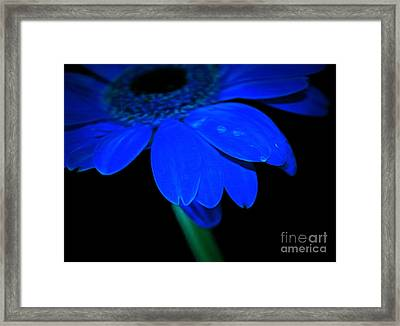 Blue Memories Framed Print by Krissy Katsimbras