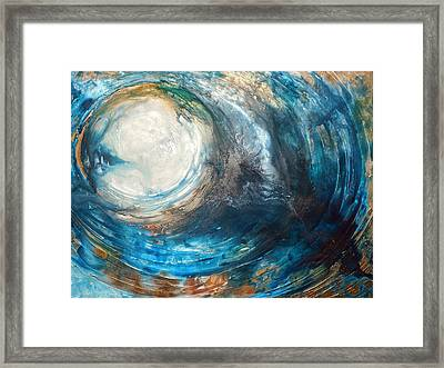 Blue Moon Framed Print by Holly Anderson