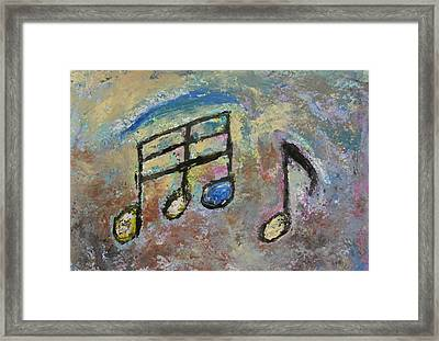 Blue Note Framed Print