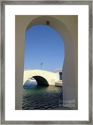 Blue Portal  Framed Print by Clay Cofer
