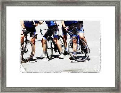 Blues Four  Framed Print
