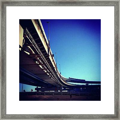 #bluesky #青空 Framed Print by Bow Sanpo