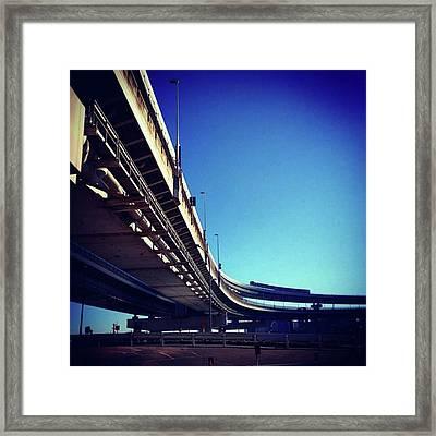 #bluesky #青空 Framed Print by Bow Sanpo