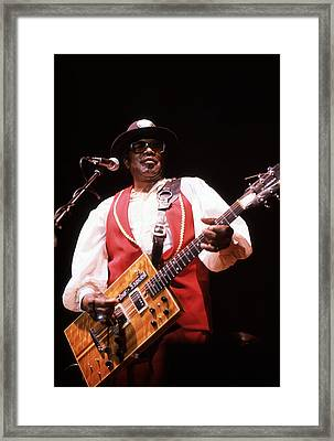 Bo Diddley Framed Print