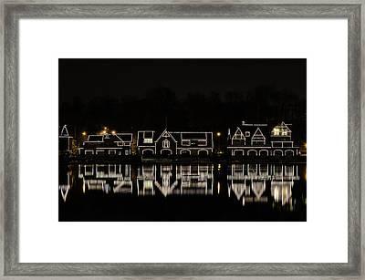 Boathouse Row - Philadelphia Framed Print