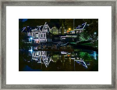 Boathouse Row II Framed Print by Frozen in Time Fine Art Photography