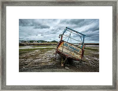 Boats By The Sea Framed Print