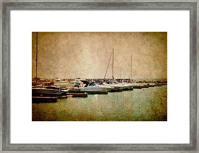 Boats Framed Print