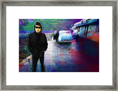 Bob Dylan No Direction Home 2 Framed Print