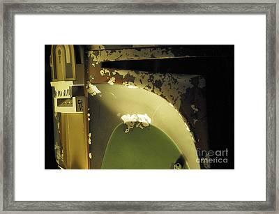Boba Fett Helmet 29 Framed Print by Micah May