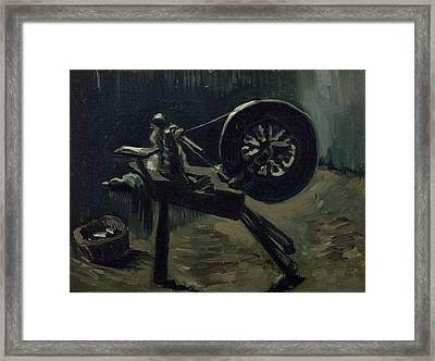 Bobbin Winder Framed Print
