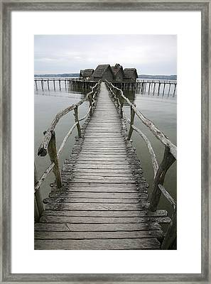 Bodensee Walkway Framed Print