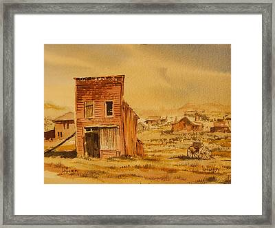 Bodie California Framed Print by Kevin Heaney
