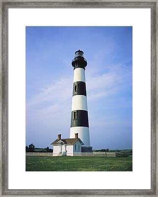 Bodie Island Lighthouse, Part Framed Print by Vlad Kharitonov