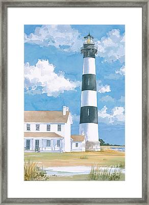 Bodie Island Lighthouse Framed Print by Paul Brent