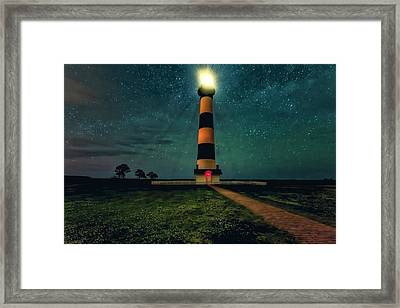 Bodie Island Night Framed Print