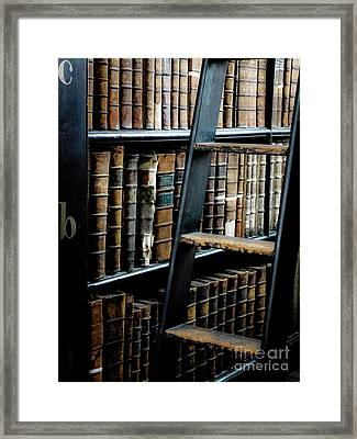 Books Of Knowledge 7 Framed Print