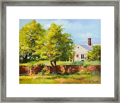 Boone Hall Plantation Framed Print
