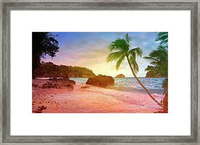 Boracay Philippians Framed Print by Mark Ashkenazi