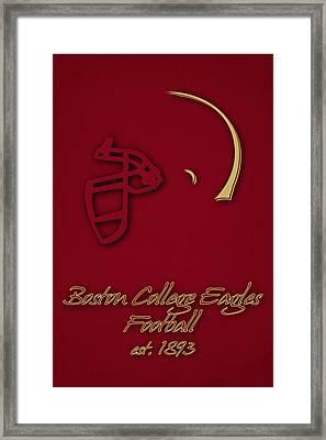 Boston College Eagles Framed Print by Joe Hamilton