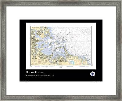 Boston Harbor Framed Print by Adelaide Images