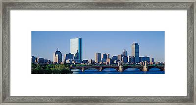 Boston, Massachusetts, Usa Framed Print
