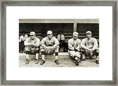 Boston Red Sox, C1916 Framed Print