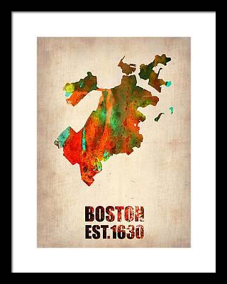 Boston Framed Prints