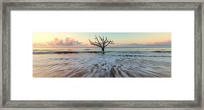 Botany Bay Morning Framed Print