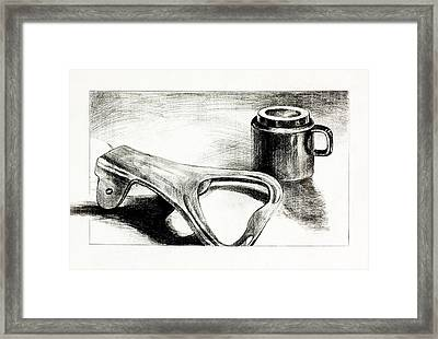 Bottle Opener And Cup  By Ivailo Nikolov Framed Print by Boyan Dimitrov