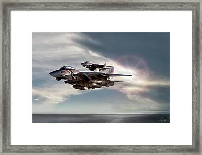 Bounty Hunters Framed Print by Peter Chilelli