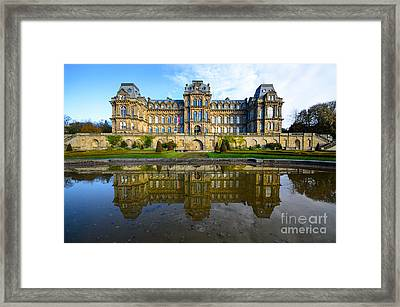 Bowes Museum Framed Print by Nichola Denny