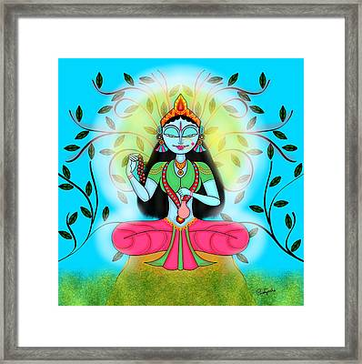 Brahmacharini Framed Print by Pratyasha Nithin