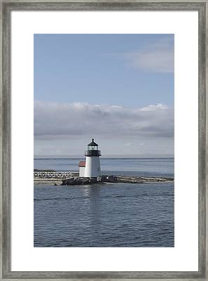 Brant Point - Nantucket Framed Print