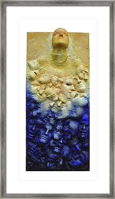 Breakaway Framed Print by Rosemary Wessel